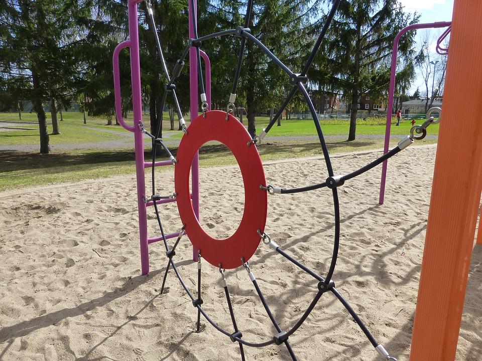 Playground, Playing Field, Park, Play, Game, Fun, Climb