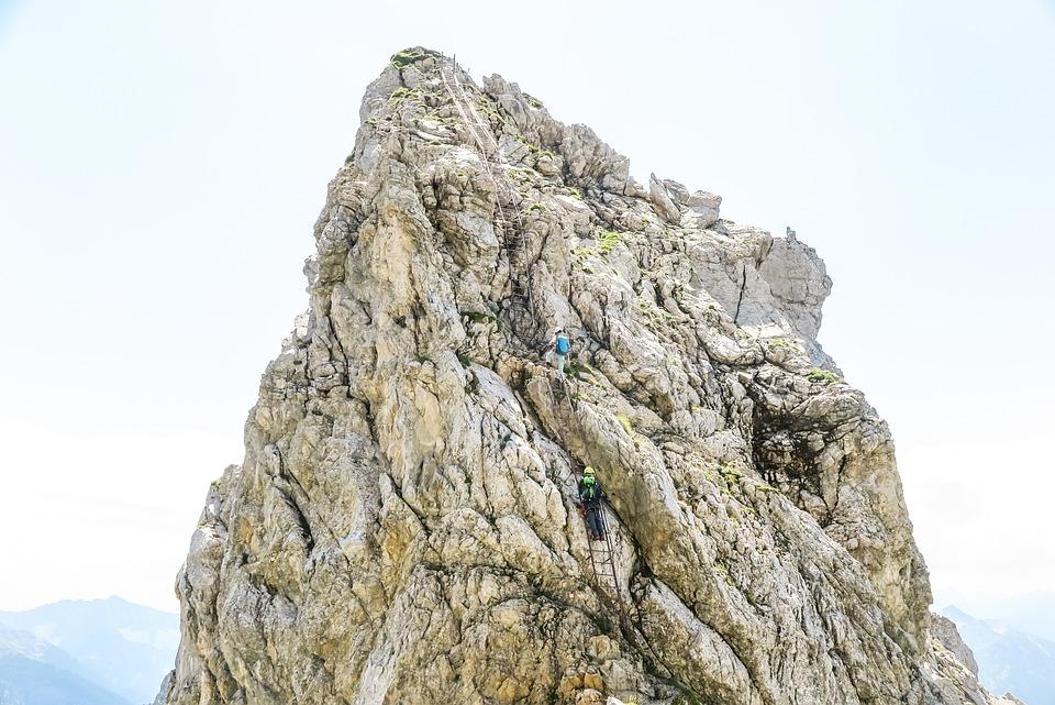 Nature, Rock, Rise, Adventure, Mountain Summit, Climb