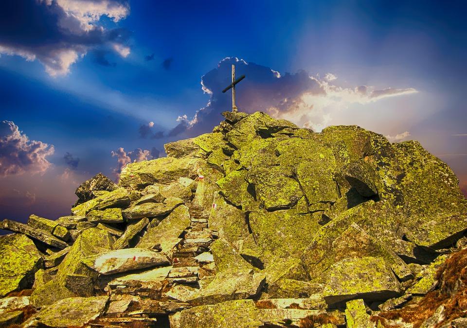 Top Of Courage, Alpine, Summit, Mountain, Climbing