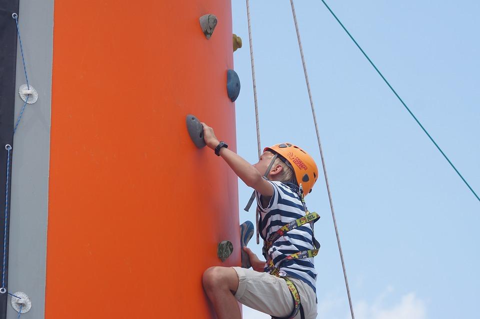 Climbing, Child, Safety, Climbing Sports, Sport