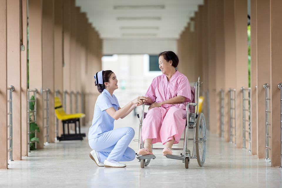 Hospital, Assistance, Caretaker, Clinic, Disability