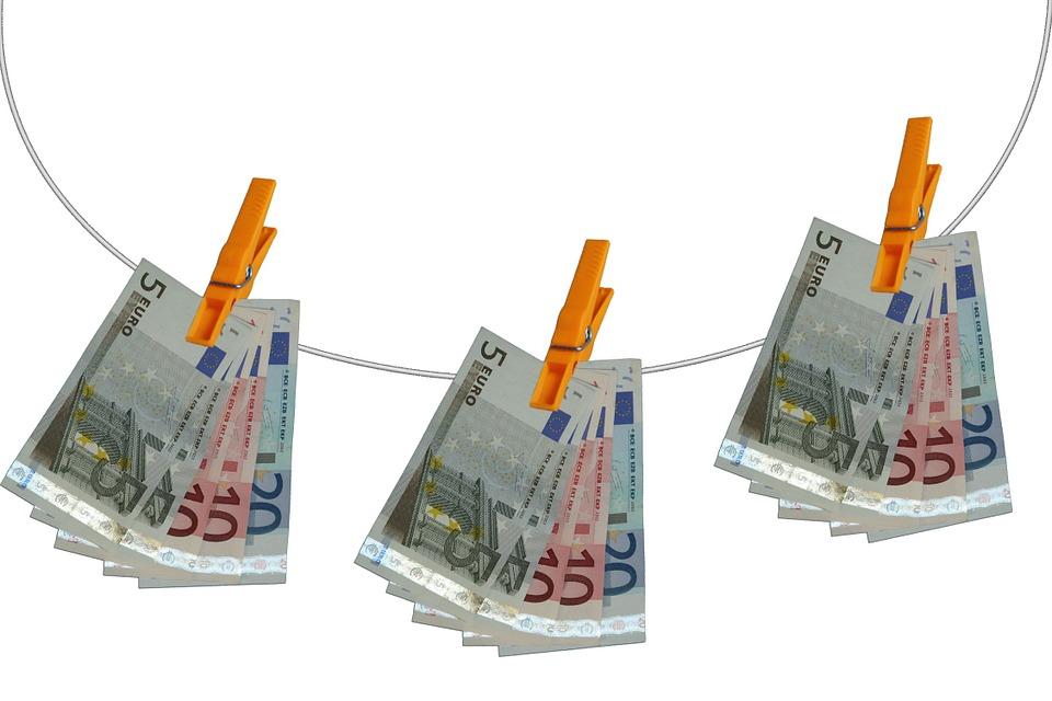 Clothes Line, Clip, Euro, Seem, Money