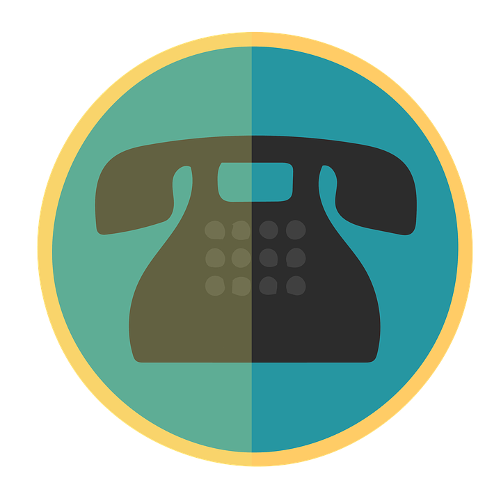 Telephone, Clipart, Icon, Old, Concept