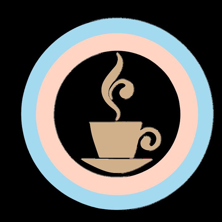 Coffee, Morning, Restaurant, Icon, Vector, Clipart