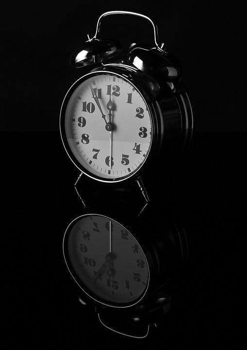 Alarm Clock, Time, Contrast, B W Photography, Clock