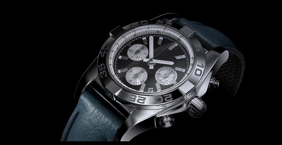 Time, Clock, Wrist Watch, Chronometer, Minute