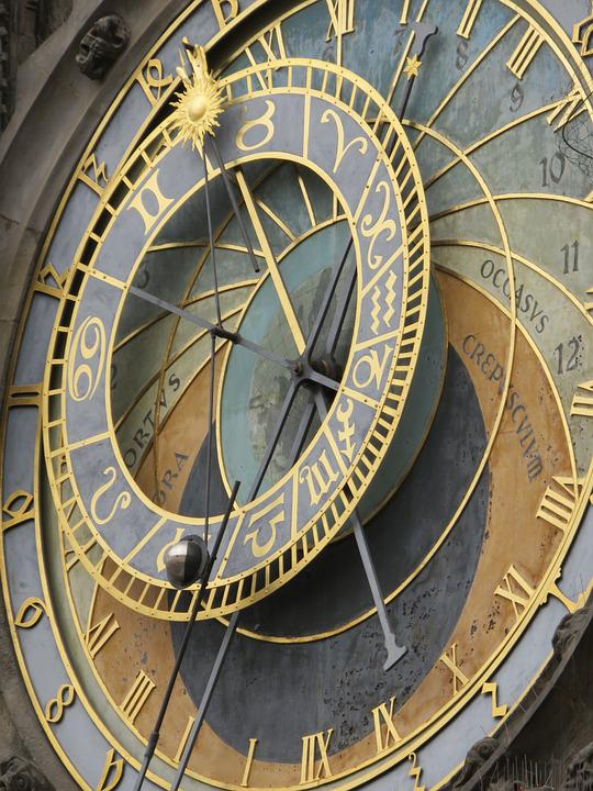 Prague, Astronomical, Clock, Europe, Czech, City