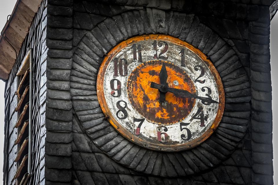 Time, Clock, Clock Tower, Dial, Clock Face, Pointer