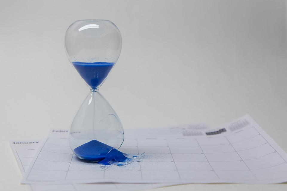 Time, Hour, Hourglass, Clock, Timer, Minute, Broken