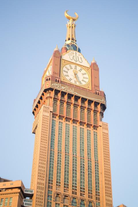 Clock Tower, Big Clock, Clock, Makkah, Ksa