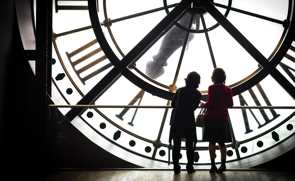 Paris, Museum, Orsay, Clock