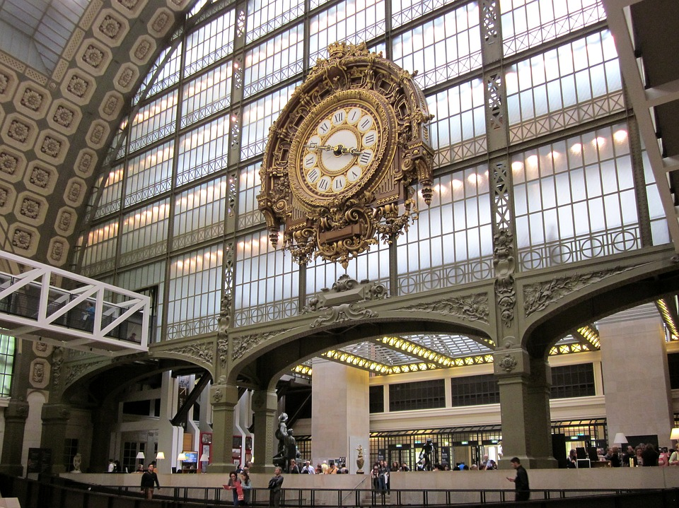 Musée dorsay clock paris museum france orsay