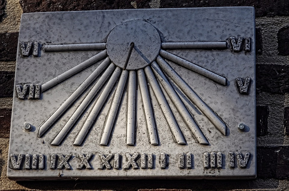 Sundial, Hours, Time, Clock, Timepiece, Pointer, Old