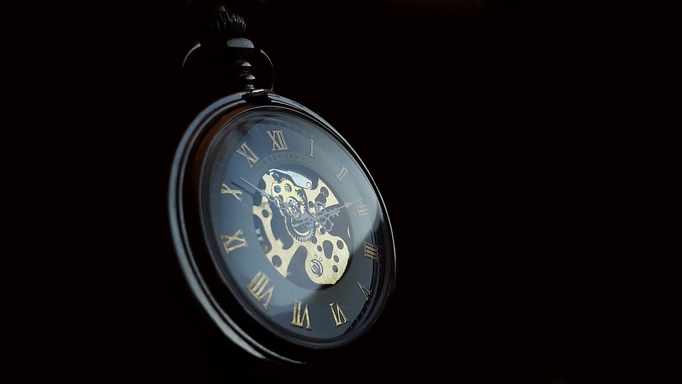 Pocket Watch, Clock, Time, Old, Nostalgia, Pointer