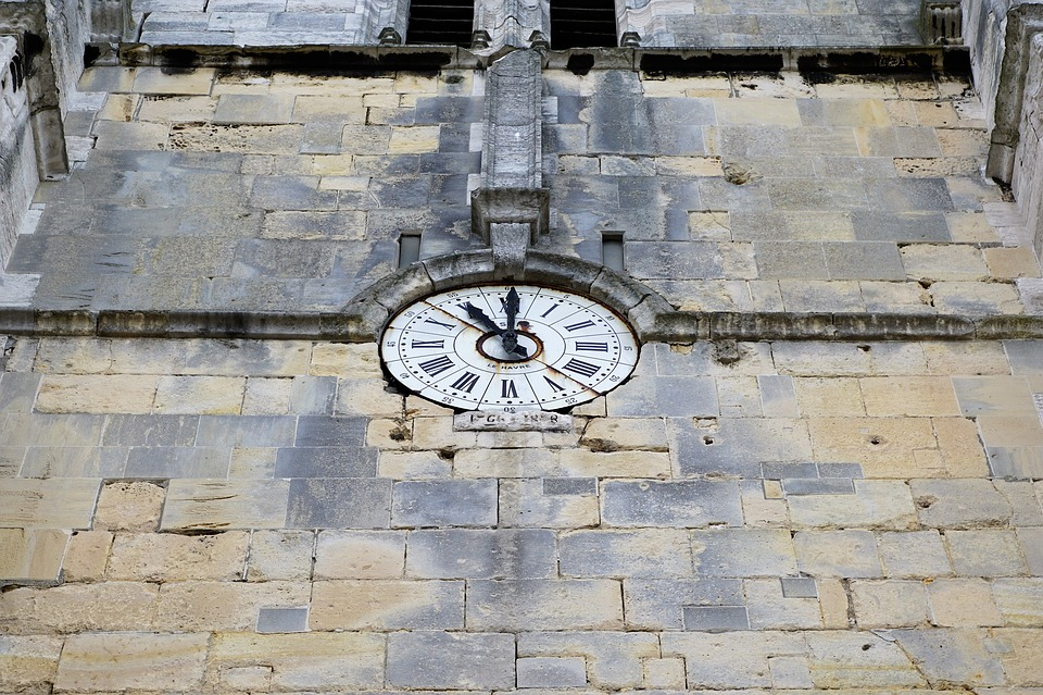 Clock, Church, Time
