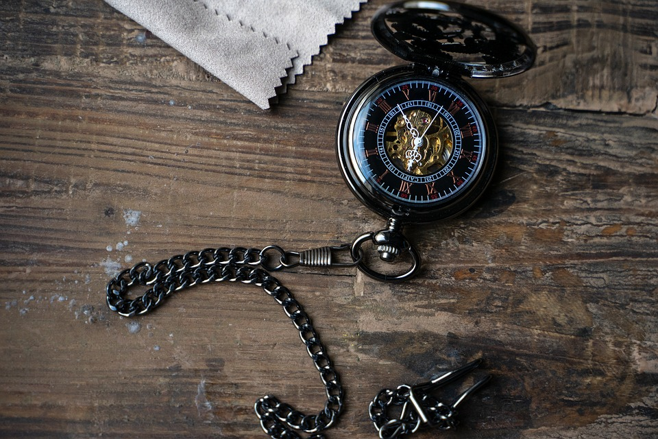Pocket Watch, Clock, Time Of, Time, Antique, Movement