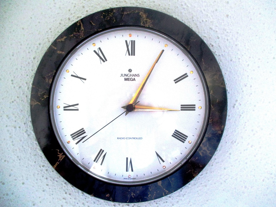 Time, Clock, Wall Clock, Radio Controlled