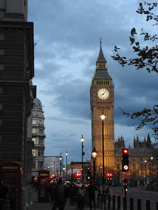 Clock, Big Ben, Places Of Interest, Clocktower, England