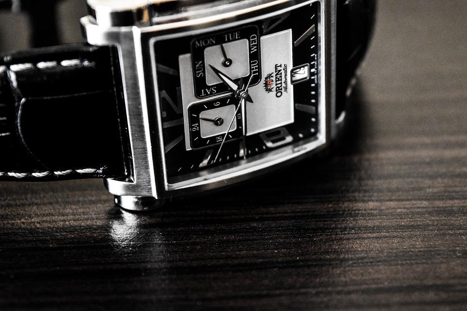 Watch, Time, Automatic, Clock, Analog, Clockwork