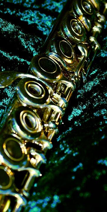 Flute, Ring Keys, Close