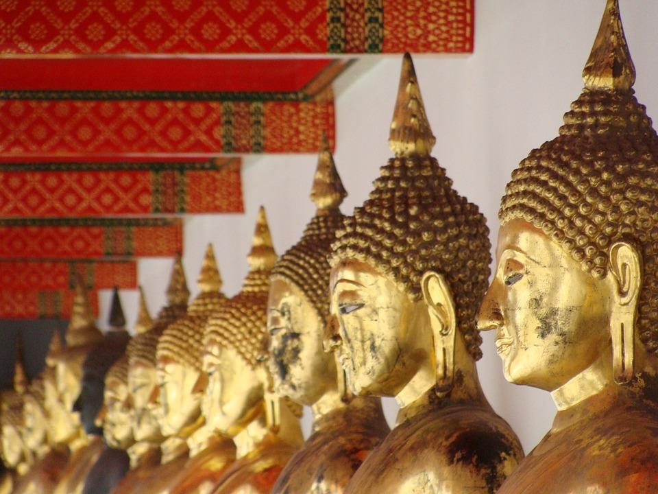 Buddhism, Statue, Close, Sculpture