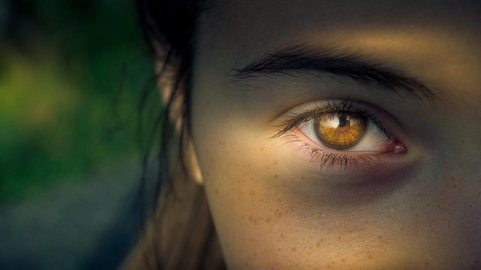 Eye, Iris, Pupil, View, Focus, Woman, Close Up
