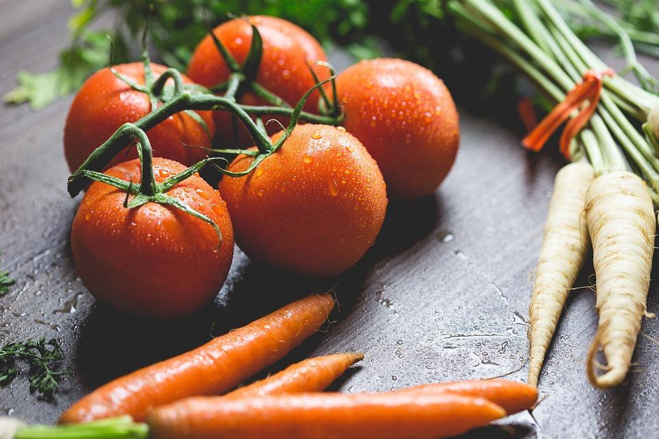 Agriculture, Blur, Carrots, Close-up, Droplets, Drops