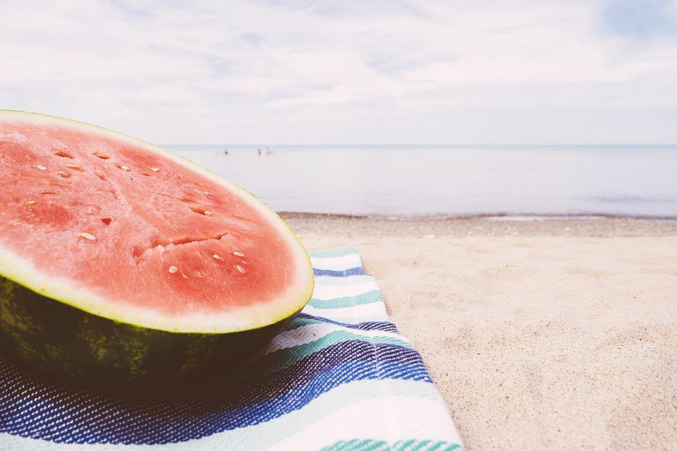 Beach, Blanket, Close-up, Food, Fresh, Fruit, Health