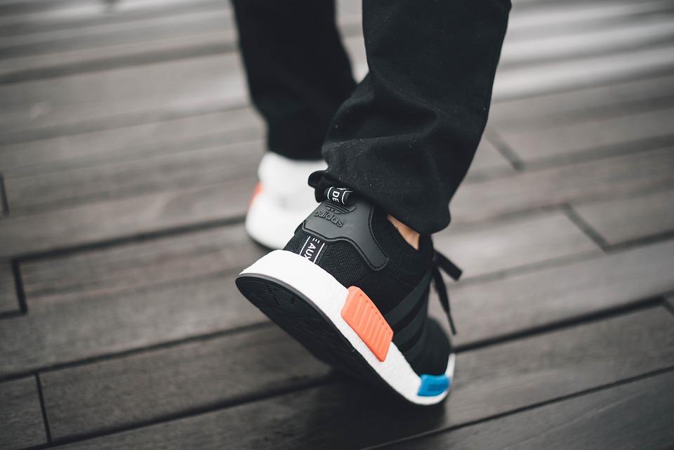 Adidas, Blur, Close-up, Focus, Footwear, Person