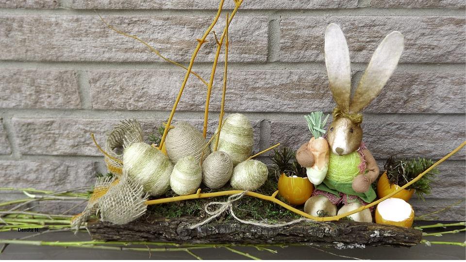 Nature, Composition, Easter Decoration, Closeup