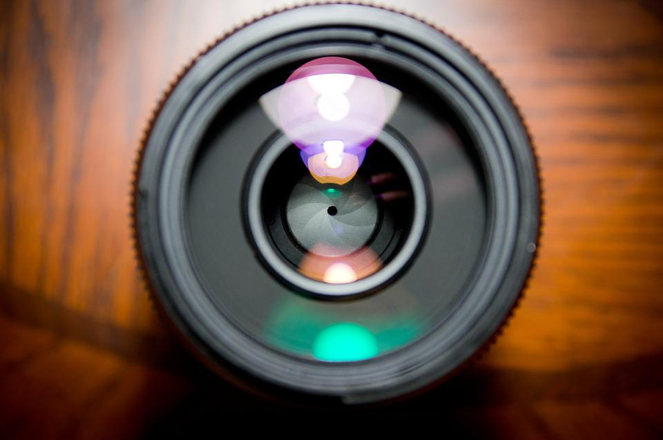 Camera Lens, Lens, Closeup, Lense Flare, Photography