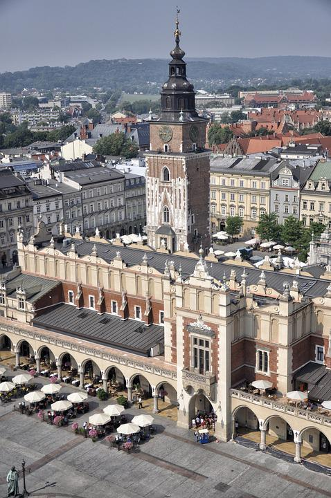 Kraków, Poland, Cloth Hall Sukiennice, The Market