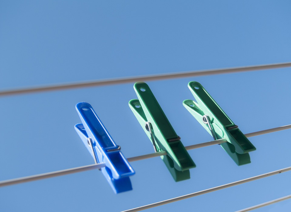 Pyykipojat, Drying Rack, Clothes Line, Sky, Summer