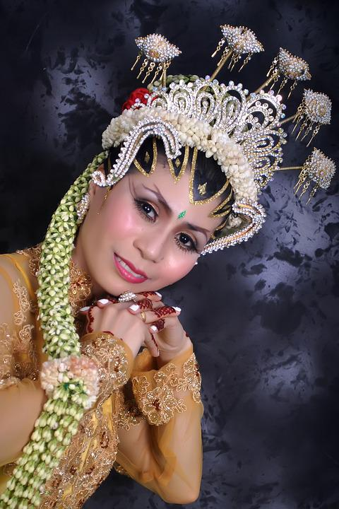 Woman, Bride, Traditional, Clothes, Wedding