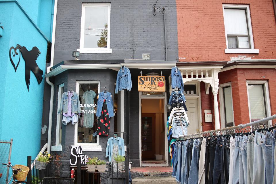 Clothing Boutique, Kensington Market, Storefront