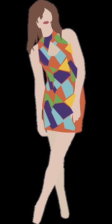 Skirt, Clothing, Dress, Fashion, Girl, Vintage, Colors