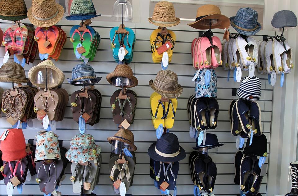 Flip Flops, Hats, Clothing, Shoes, Summer Hat, Hat
