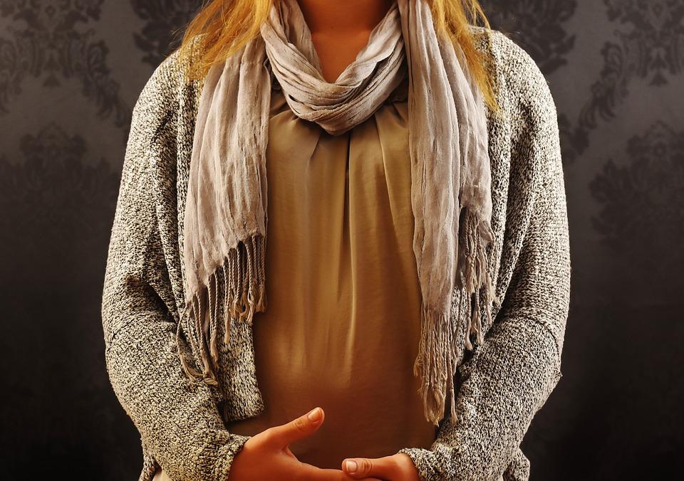 Woman, Fashion, Scarf, Knit Vest, Clothing, Fashionable