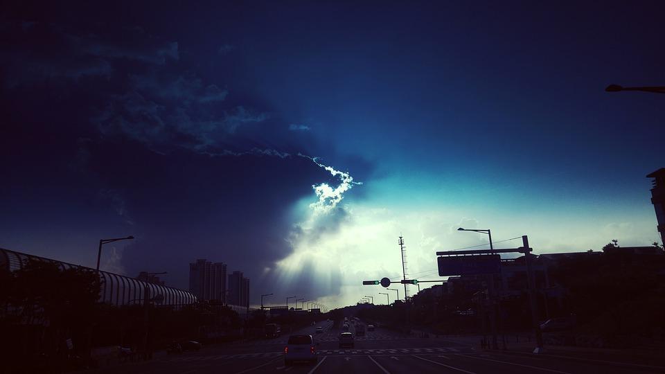 Sky, Blue, Background, Nature, Recreation Area, Cloud
