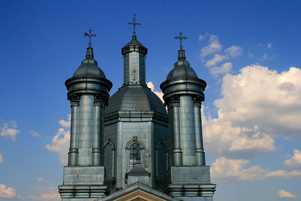 Church, Sky, Cloud, Blue, Building, Holy