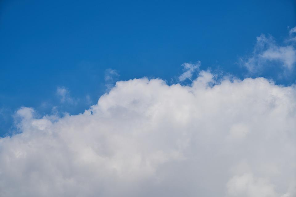 Cloud, Blue, Sky, Clouds, Nature, Summer, Air