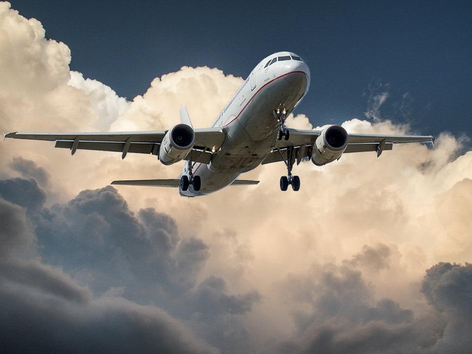 Aircraft, Jet, Landing, Cloud