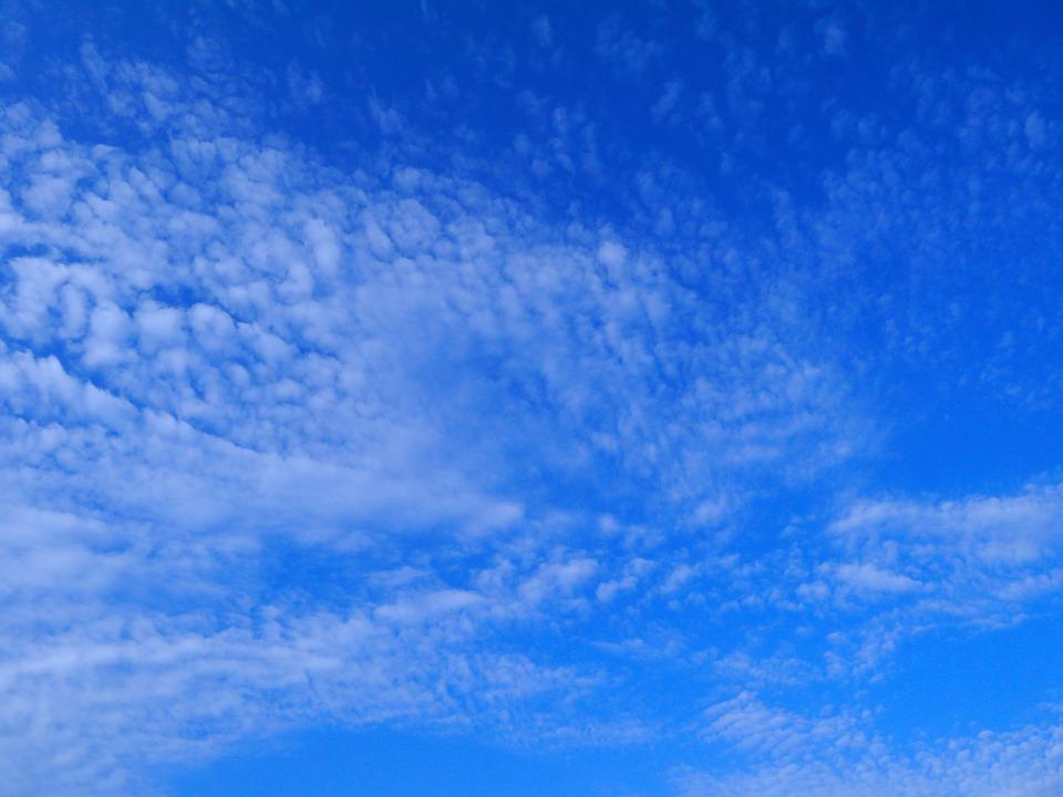 Blue, Sky, Cloud