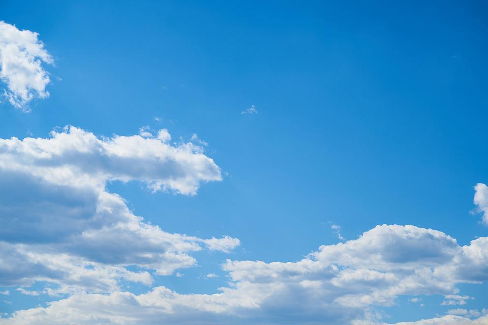 Sky, Cloud, Blue, White, Nature, Clouds, Holiday, Air