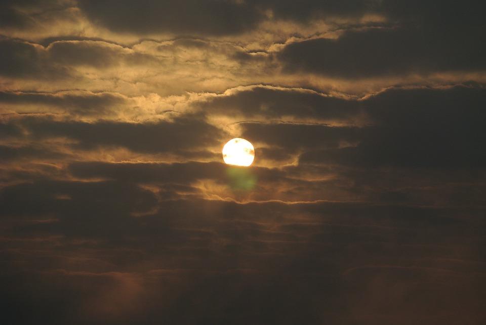 Morning, Sunrise, Cloud, Solar