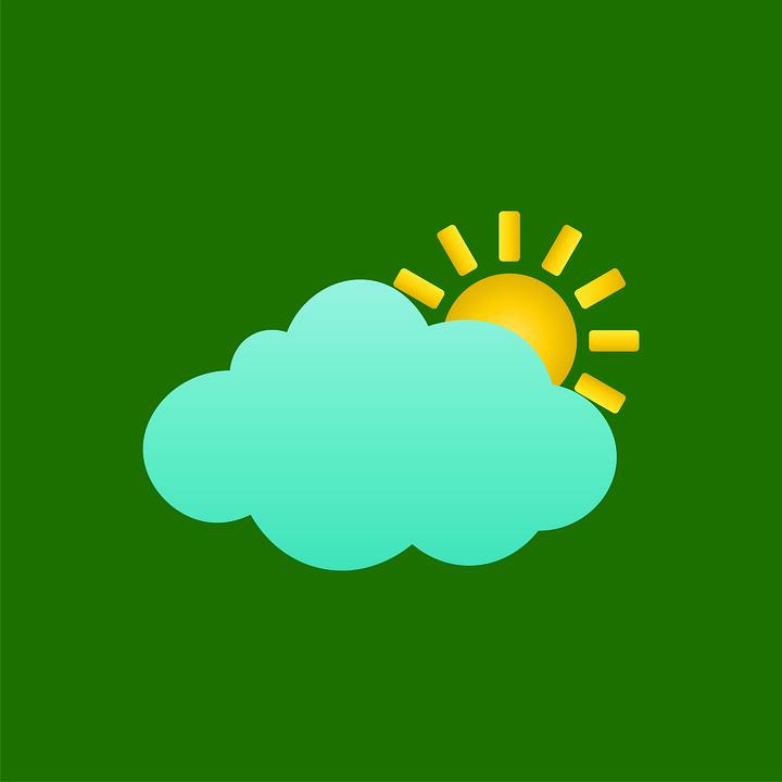 Weather, Sunny, Cloud, Sky, Light, Sunlight, Green Sky