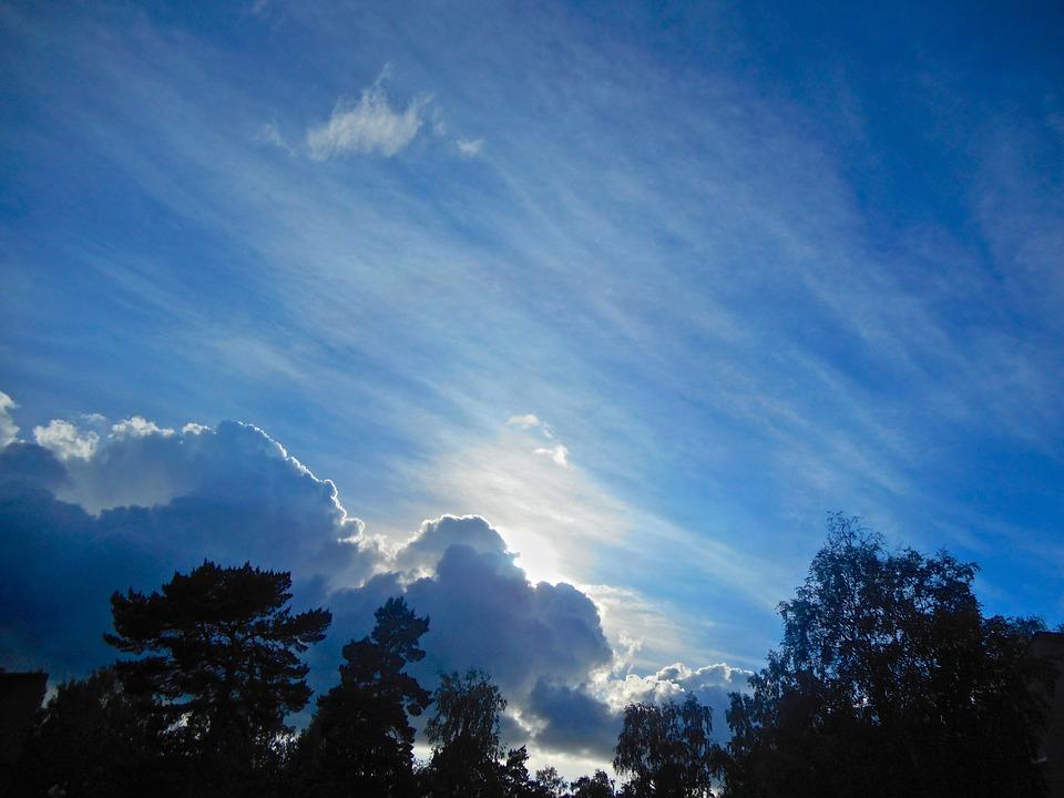 Cloud, Himmel, Blue Sky, Revelation, Sunset, Summer