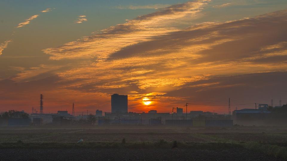 Sunrise, The Morning Sun, Cloud, Morning, Chenguang