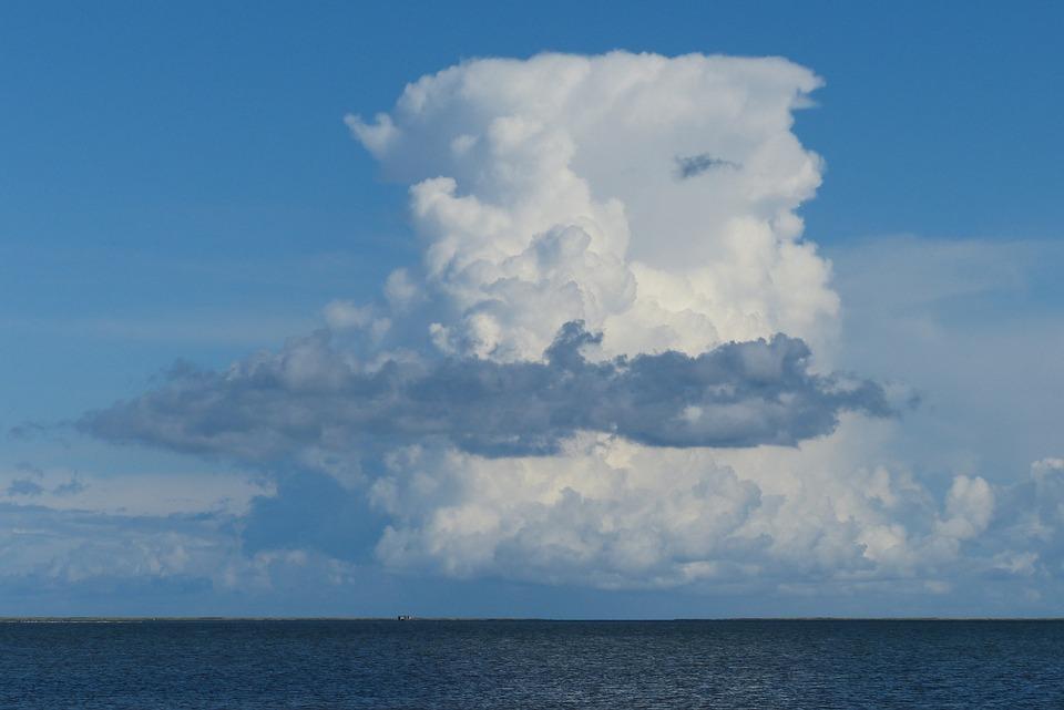 Cumulus Nimbus, Thundercloud, Cloud Tower, Cloud