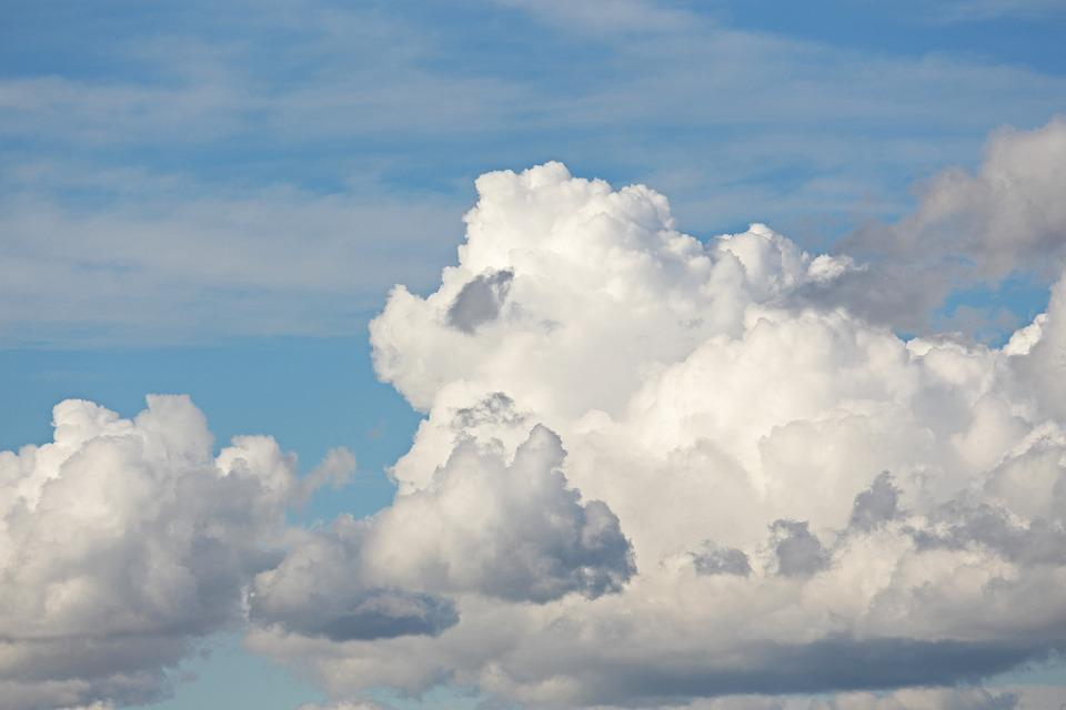 Clouded Sky, Clouds, Sky, Abstract, Clouds Form